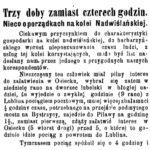 Jak się jeździło z Lublina do Osiecka w 1906 r.