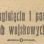 Zaginieni żołnierze z powiatu garwolińskiego - I wojna światowa